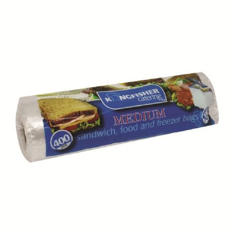 Extra Large 39.5x30cm Sandwich Food Freezer Bags Kingfisher Catering (45 Pack)